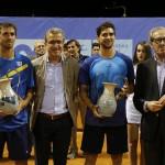 Finale del doppio: tango argentino con Guido Andreozzi e Andres Molteni