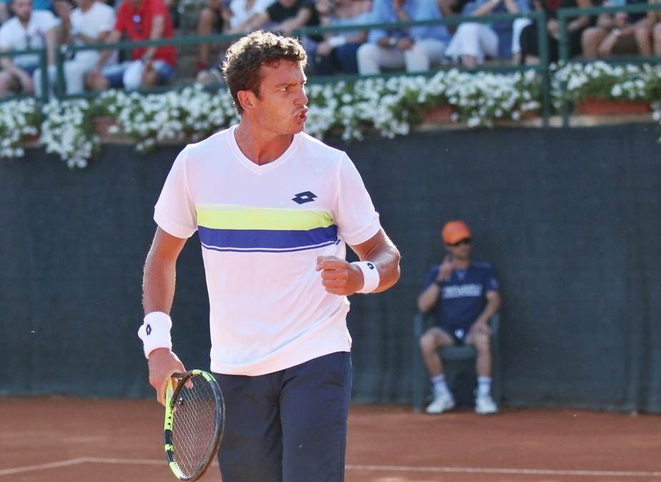 ATP Challenger Cmc, Giannessi il primo finalista a Caltanissetta