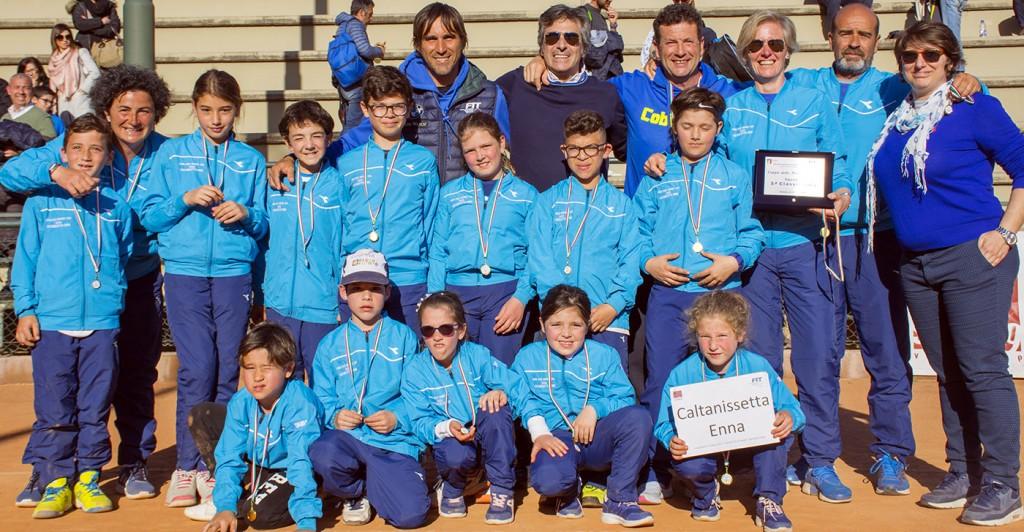 La selezione di Caltanissetta ed Enna dei nati 2009, 2010 e 2011 qualificatasi al quinto posto nella Coppa delle Provincie siciliana.