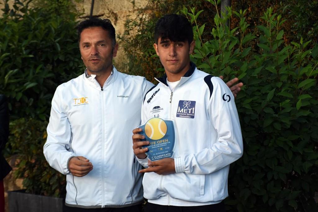 Giorgio Giuffrida vince la competizione intermedia di terza categoria
