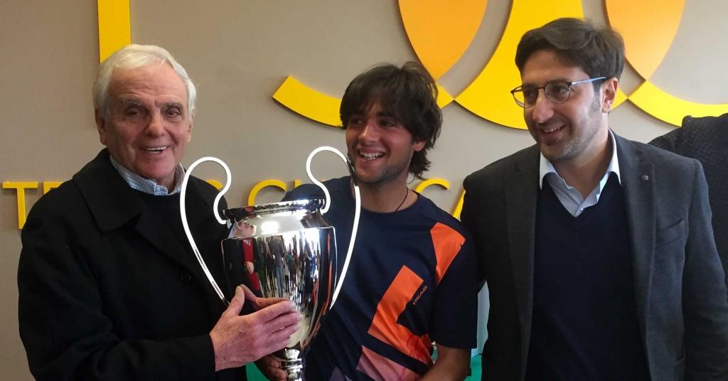 Davide Potenza si aggiudica il Torneo sociale maschile 2019