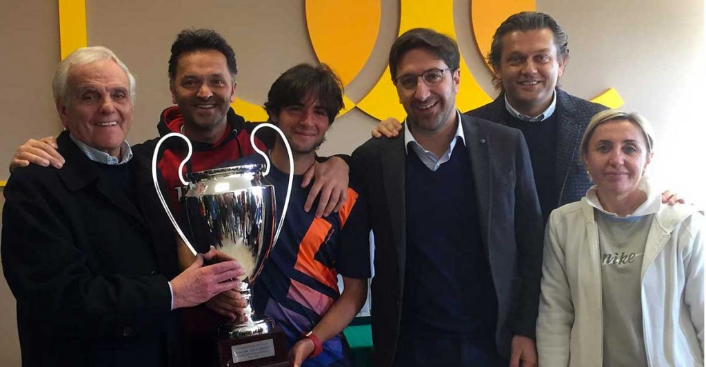 Davide Potenza vince il torneo sociale maschile 2018