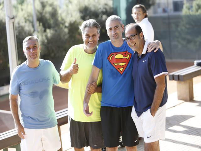 Alcuni soci del Tennis Club