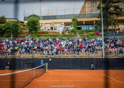 Il pubblico del Tennis Club