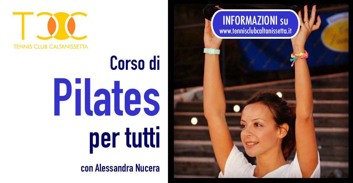 Lezioni di Pilates al TCC con Alessandra Nucera