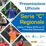 Tc Caltanissetta, buona la prima per la squadra di serie C maschile. Sabato 17 marzo alle ore 12, la presentazione ufficiale del team