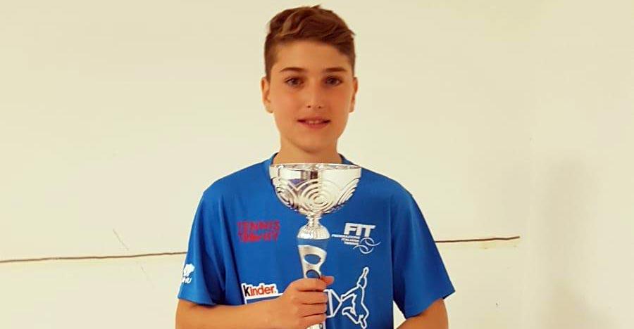 Marco Colore vince il Torneo Kinder Sporting Village di Palermo