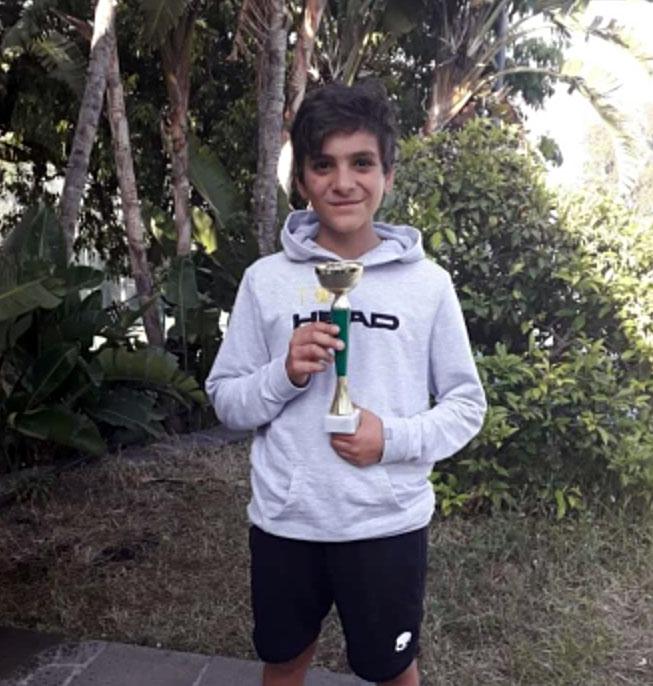 Marco Vancheri si aggiudica il torneo Under 12 di Aci Castello