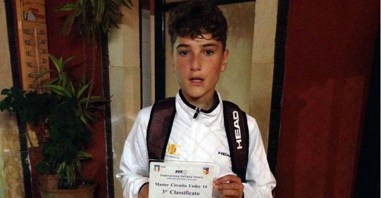 Marco Colore si aggiudica il Terzo Posto al Master Under 14 di Sicilia