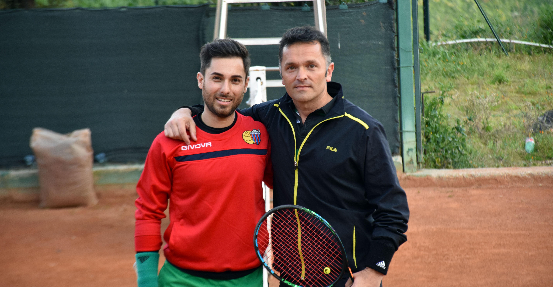 Antonio Sedita (a sinistra) e Claudio Miccichè hanno disputato la seconda semifinale del torneo