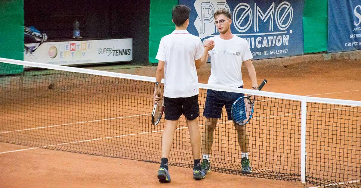 Loris Palmeri e Filippo Suriano hanno disputato la finale del singolare maschile