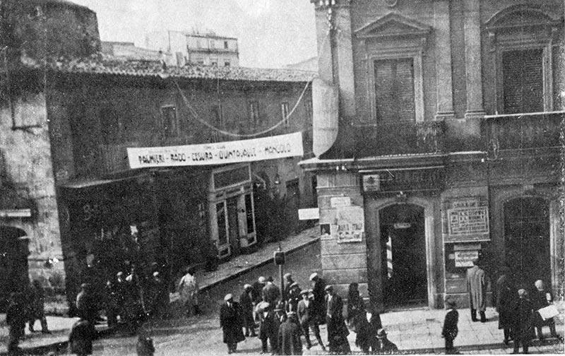 La Piazza Garibaldi a Caltanissetta CL - Sicilia