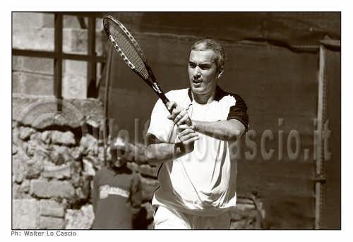 Davide Sanguinetti, giocatore professionista di tennis che ha partecipato al Torneo Internazionale Future 2008