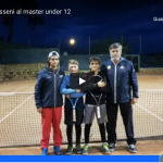 Marco Colore e Marco Vancheri al Master Under 12 di Sicilia
