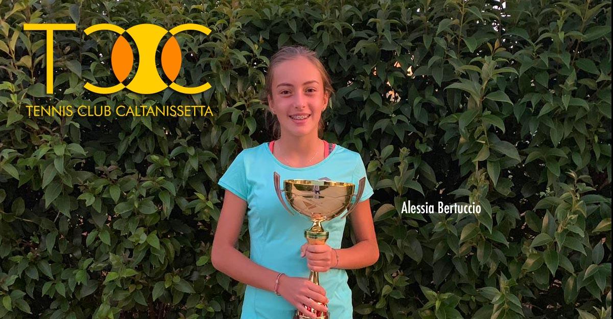 Alessia Bertuccio vince il torneo di IV Categoria