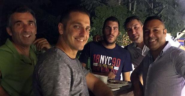 Una simpatica serata al Tennis Club Villa Amedeo di Caltanissetta