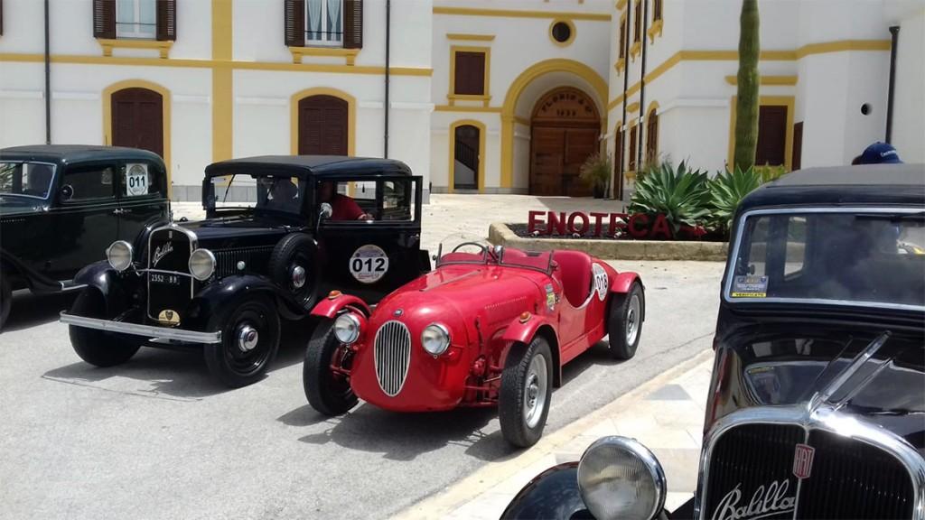 macchine d'epoca del Circuito dell'Antico Pistone
