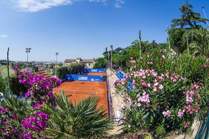 I campetti da tennis