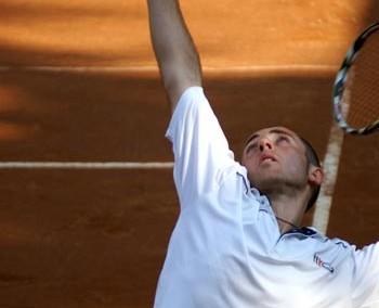 Uno dei giocatori del Torneo Internazionale di Tennis Future 2007