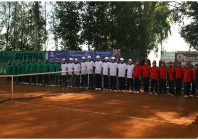 I raccattapalle del Torneo Internazionale Challenger 2011