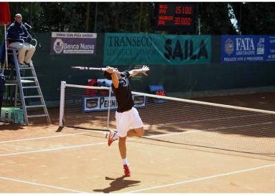 Gianluca Naso, tennista in gara nel Torneo Internazionale Challenger 2011