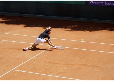 Il tennista Gianluca Naso - Torneo Internazionale Challenger 2011