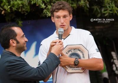 Intervista al vincitore del Torneo Internazionale Challenger 2014