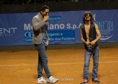 Esibizione e cabaret durante il Challenger 2014 a Caltanissetta