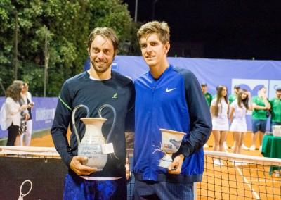 I vincitori del torneo doppio Challenger 2016