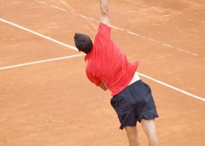 Uno dei partecipanti al Torneo Internazionale Challenger 2012