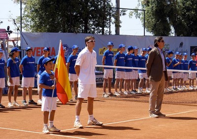 Premiazione del vincitore del Torneo Internazionale Challenger 2012