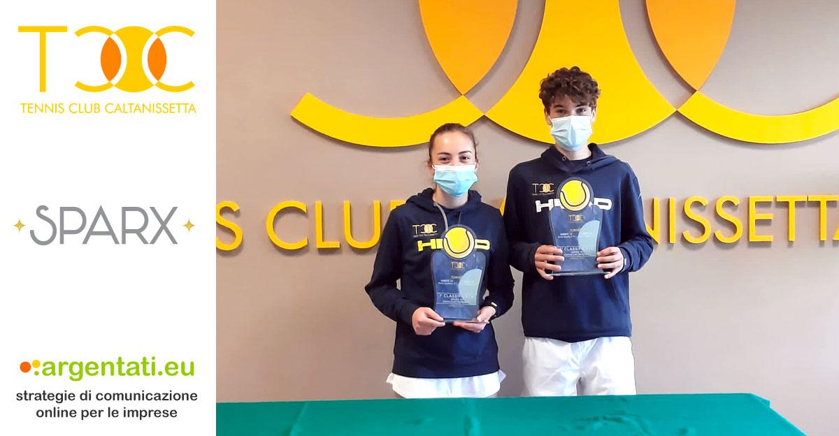 Alessia Bertuccio e Marco Colore vincono i rispettivi tabelloni Under 16