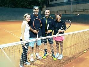 finalisti, da sinistra Nadia di Blanda, Massimo Giuffrida ed i vincitori