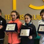 Conigliaro e Fiorillo si aggiudicano il torneo Under 11 Maschile e Femminile