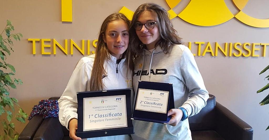 Alessia Bertuccio (a sinistra) e Federica Vancheri