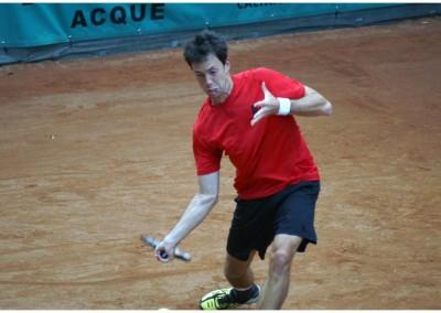 Uno dei giocatori del Torneo Internazionale Challenger 2011