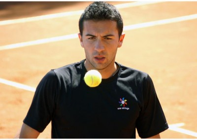 Il tennista Gianluca Naso