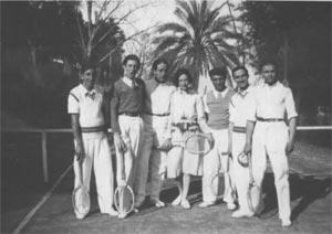Anni 50 del Tennis Club Villa Amedeo di Caltanissetta