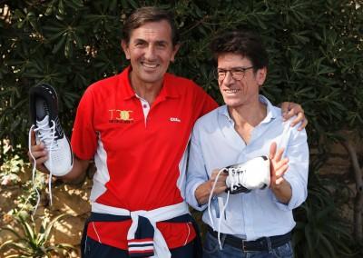 i vincitori, da sinistra Giorgio Giordano e Danilo Greco