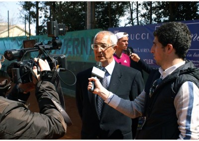 Michele Trobia, Presidente del Tennis Club Caltanissetta
