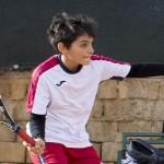 Marco Vancheri ai Campionati Nazionali di tennis Under 12
