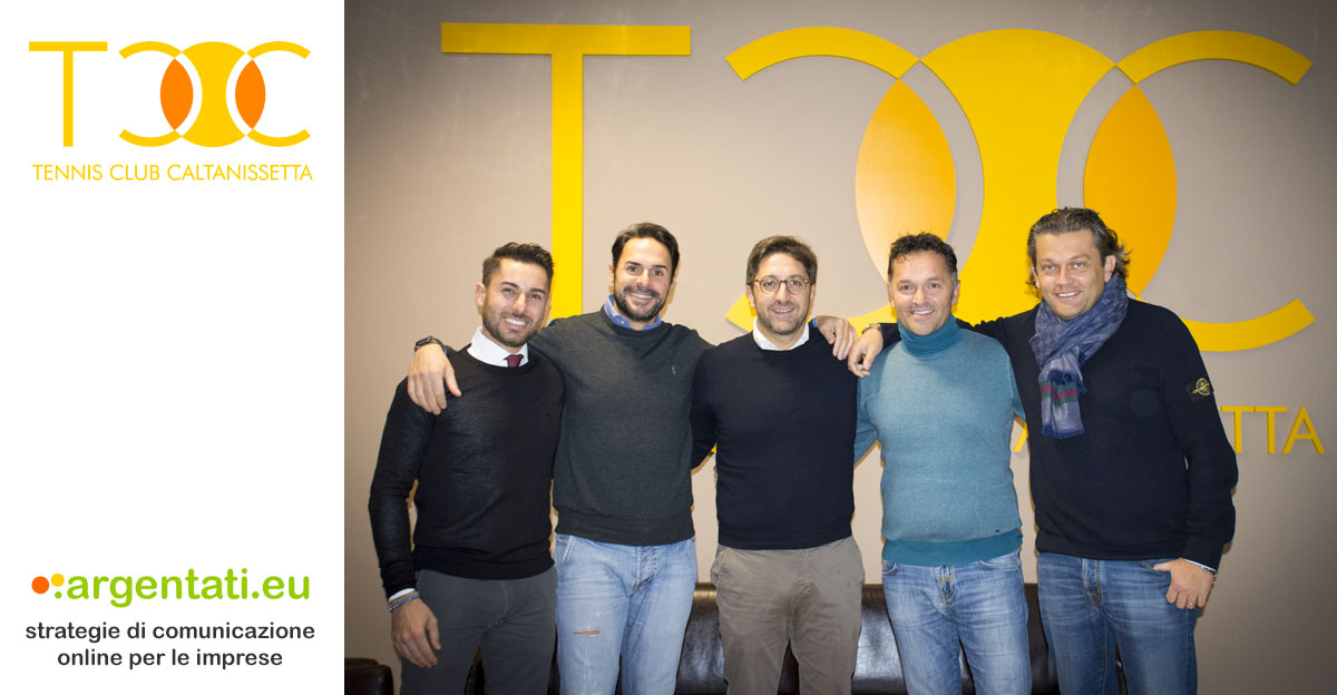 Da sinistra: Antonio Sedita, Michele Eufrate, Gianluca Nicosia, Claudio Miccichè, Ivano Aquilina.
