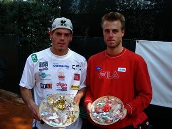 I vincitori del Torneo Internazionale di Tennis Italy 1 2003