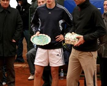 I vincitori del torneo doppio del Torneo Internazionale di Tennis Future 2006