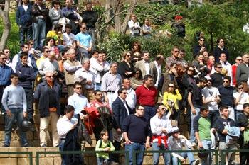 Il pubblico durante la finale del Torneo Internazionale di Tennis Future 2008