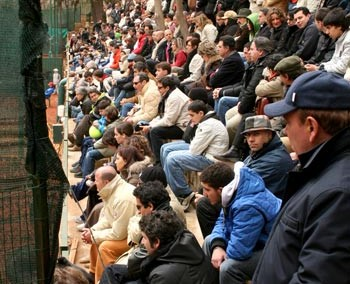 Il pubblico che ha seguito il Torneo Internazionale di Tennis Future 2006