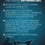 Photo-Contest: #mytennisclubcl. Partecipare è facilissimo: in palio una straordinaria sorpresa