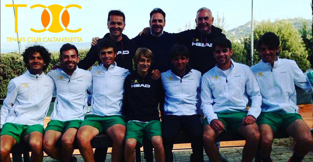 La squadra di Serie C del TCC Villa Amedeo di Caltanissetta