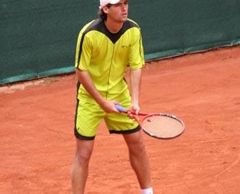 Uno dei giocatori del Torneo Internazionale di Tennis Future 2006