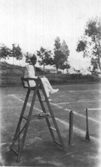 Anni 30 del Tennis Club Villa Amedeo di Caltanissetta